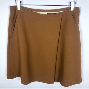 Aritzia Wilfred Pleat Mini Skirt